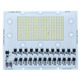 AC高压恒流免驱动LED方案设计工厂生产贴片去电源集成化130W投光灯模组光源板线性光引擎2835