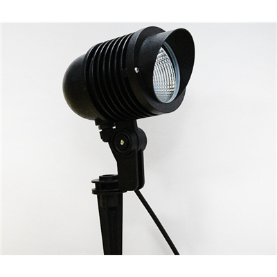 批发LED户外投射灯小射灯防水防雷射灯 10W草坪地插灯