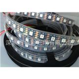 厂家供应APA102 5050RGB灯条 60灯/米 DC5V IP65/67 白板/黑板 幻彩灯条