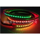 厂家供应APA102 5050RGB灯条 144灯/米 DC5V IP65/67白板/黑板 幻彩灯条