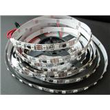 厂家供应WS2811 5050RGB灯条 72灯/米 DC12V 白板/黑板 幻彩灯条