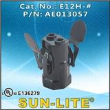 E12 电木灯座, E12H
