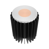 30-80W LED筒灯 轨道灯散热器