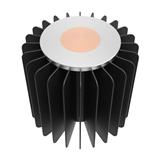 50W LED筒灯轨道灯小直径散热器