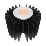 60W LED筒灯轨道灯小直径散热器