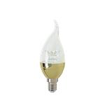 LED烛泡灯-透明拉尾灯