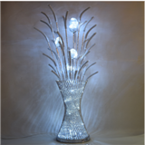 全手工铝线花瓶装饰家居灯 落地灯 装饰灯