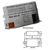 紫外灯电子镇流器AC220V 18W