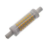 厂家批发新款LED陶瓷R7S玉米灯5W 220-240V暖白显指>80