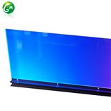 幕墙灯洗墙灯导板光七彩外控纳米透明装饰灯亮化工程可定制字样