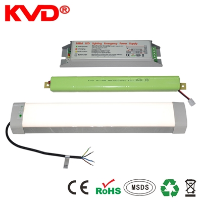 KVDLED防水防腐防尘灯18w36w现货LED工厂价专用三防灯应急电源 副本
