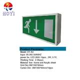 应急疏散标志灯牌指示灯单面壁挂HY-A3