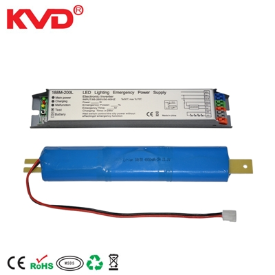 KVD188M-200L LED应急电源 40W三防灯应急30%3小时 配高温电池 副本