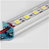 led硬灯条12v铝槽灯 led5050柜台灯 暖白正白高亮LED珠宝柜台照明