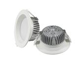 厂家直销 5寸 防眩压铸筒灯外壳套件 15-18W 150-160mm开孔 护眼 高显指 商照 家居