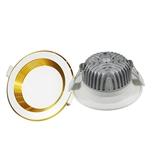 厂家直销 3.5寸防眩压铸筒灯天花灯外壳套件 95-105mm开孔 护眼 商照 家装 多种面环可选