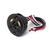 LC-10R/5 5P 光控器 UL认证路灯光控开关配套底座光控插座 全球先驱光感控制器