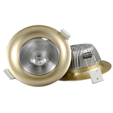 厂家直销 3寸COB压铸筒灯外壳套件 5-7W 85-90mm开孔 高显指 商照 2-3年质保