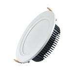 4寸 压铸筒灯 天花灯 外壳套件 10-18W 125-128mm开孔 高显指 家装 商照