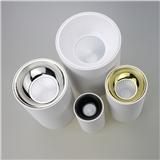 白色 明装 直筒型 筒灯 外壳套件 5-10W 2-3年质保 15/30/45发光角度 格锐反光杯