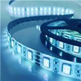 5050/2835灯带12VRGB防水300灯音乐声控七彩LED七彩滴胶吸塑套装