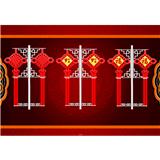 led中国结、led灯笼、led灯杆造型、led灯光隧道