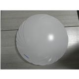 LED吸顶灯灯罩 300口径全白凤尾款亚克力灯罩 可订做尺寸