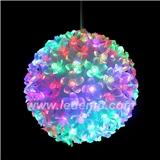 LED彩灯挂件50灯100灯樱花球亮化春节元宵开业婚礼装饰灯花球灯串