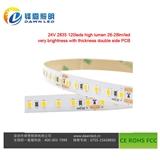 厂家制造led灯条 可定制灯条 24v软灯带 120灯led灯带 水下灯条 细条灯