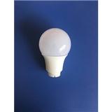 供应压铸塑包铝LED球泡灯外壳套件 压铸款光面PC球罩配件 A60 9W