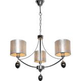 客厅吊灯led水晶灯北欧后现代简约大气家用布艺餐厅书房卧室灯具