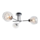 现代简约吊灯 创意个性玻璃灯罩客厅灯具 餐厅卧室设计师铁艺灯饰