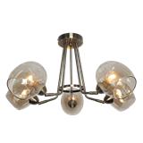后现代大厅5头吊灯简约现代大气客厅风格 高档卧室个性创意餐厅灯具