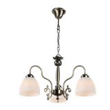 美式吊灯客厅灯铁艺现代简约灯具奢华大气卧室灯北欧家用餐厅3头吊灯
