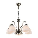 美式吸顶灯简约大气家用客厅灯美式田园铁艺餐厅卧室灯复古灯具