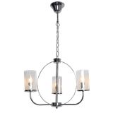 客厅吊灯 后现代简约水晶吊灯大气家用玻璃卧室餐厅吊灯具