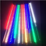 厂家批发led流星灯 户外亮化LED流星雨灯 节日圣诞树装饰流星管 道路 园林 酒店 房地产装饰工程