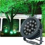 圆形车轮led投光灯24w户外防水泛光灯36W照树射灯15W