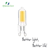 LED灯珠 COB G9透明玻璃2w 3w卤素灯泡