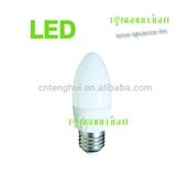 led灯泡E14 3w/4w LED蜡烛灯