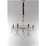 欧式水晶吊灯家用客厅卧室餐厅灯大气简约现代蜡烛奢华服装店灯具