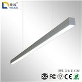 办公吊线灯led线条灯简约方通长条灯超市办公室灯可拼接工程照明