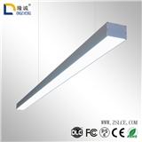 办公照明led吊线灯铝材方通灯直发光面板灯 可拼接线条灯