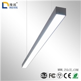 led可拼接办公吊线灯线条灯条形办公灯长条办公室吊灯 方通灯