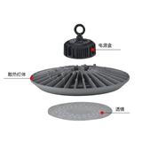 厂家直销高性价比100-240W大功率UFO飞碟灯外壳套件 高顶棚灯外壳 举报