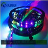 WS2811 60灯 白光/暖白跑马灯 幻彩可编程 外置IC外控DC12V LED灯带