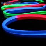 360度发光防水霓虹灯条 圆形LED柔性灯带环形发光条360°防线条灯