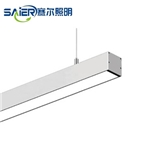 定制低压LED线条灯灯槽铝槽灯形嵌入式明装暗藏铝合金长条灯线性