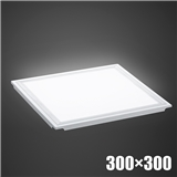 LED超薄直发光透镜款平板灯厨卫灯集成吊顶石膏矿棉板方形面板灯300×600