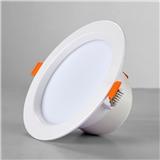 LED嵌入式筒灯客厅餐厅过道家用商用办公室天花灯2.5寸3.5寸